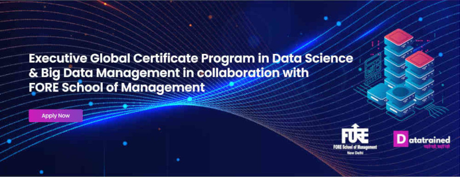 Executive Global Certificate Program in Data Science
