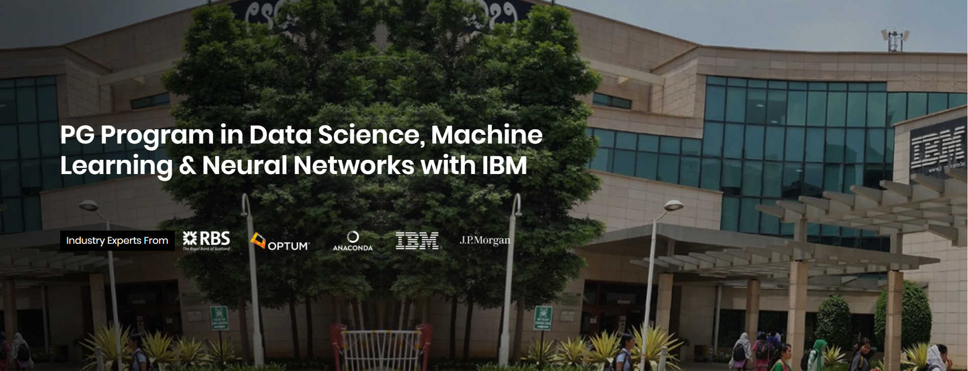PG Program in Data Science, Machine Learning & Neural Networks in collaboration with IBM